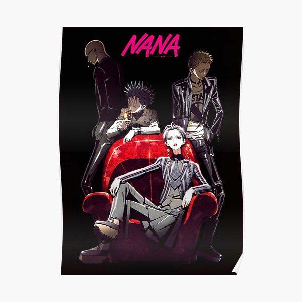 Vintage nana noir Poster