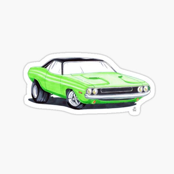Dodge Challenger Sticker