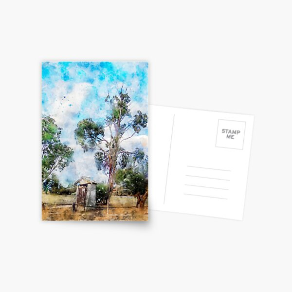 Milang South Australia - Meditation Postcard