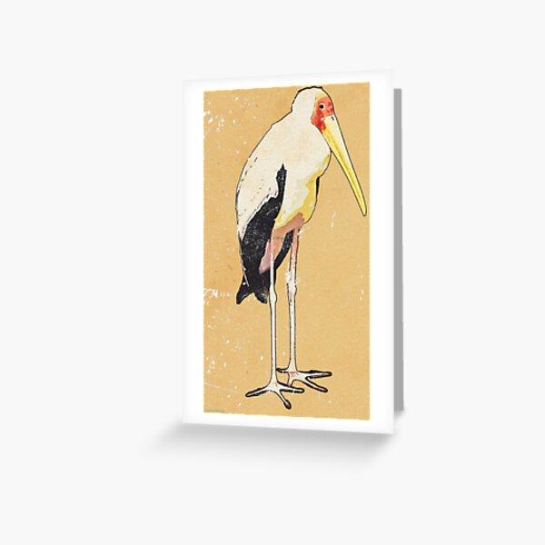 Storky Greeting Card