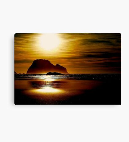 OCEANSIDE OREGON Canvas Print