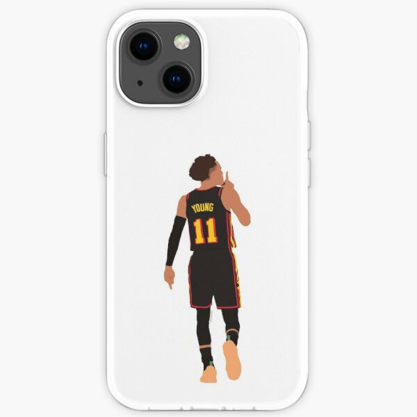 Trae Young Silences MSG Game Winner Playoffs // Phone cases, shirts, stickers iPhone Soft Case