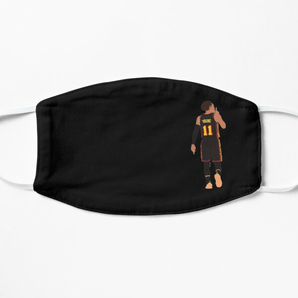 Trae Young Silences MSG Game Winner Playoffs // Phone cases, shirts, stickers Flat Mask