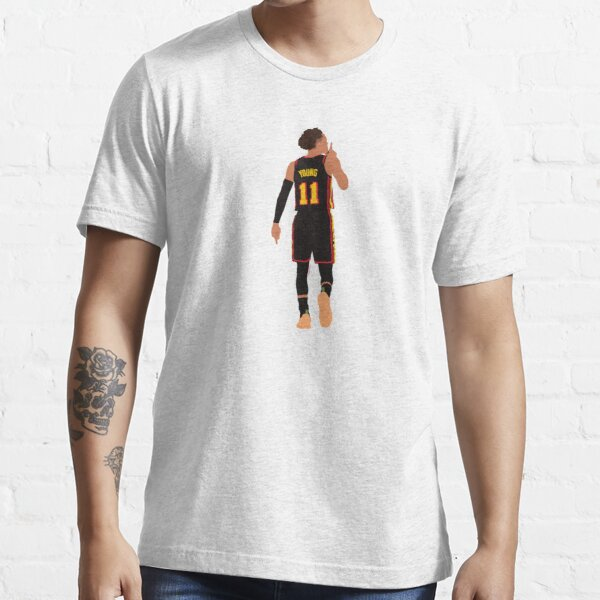 Trae Young Silences MSG Game Winner Playoffs // Phone cases, shirts, stickers Essential T-Shirt