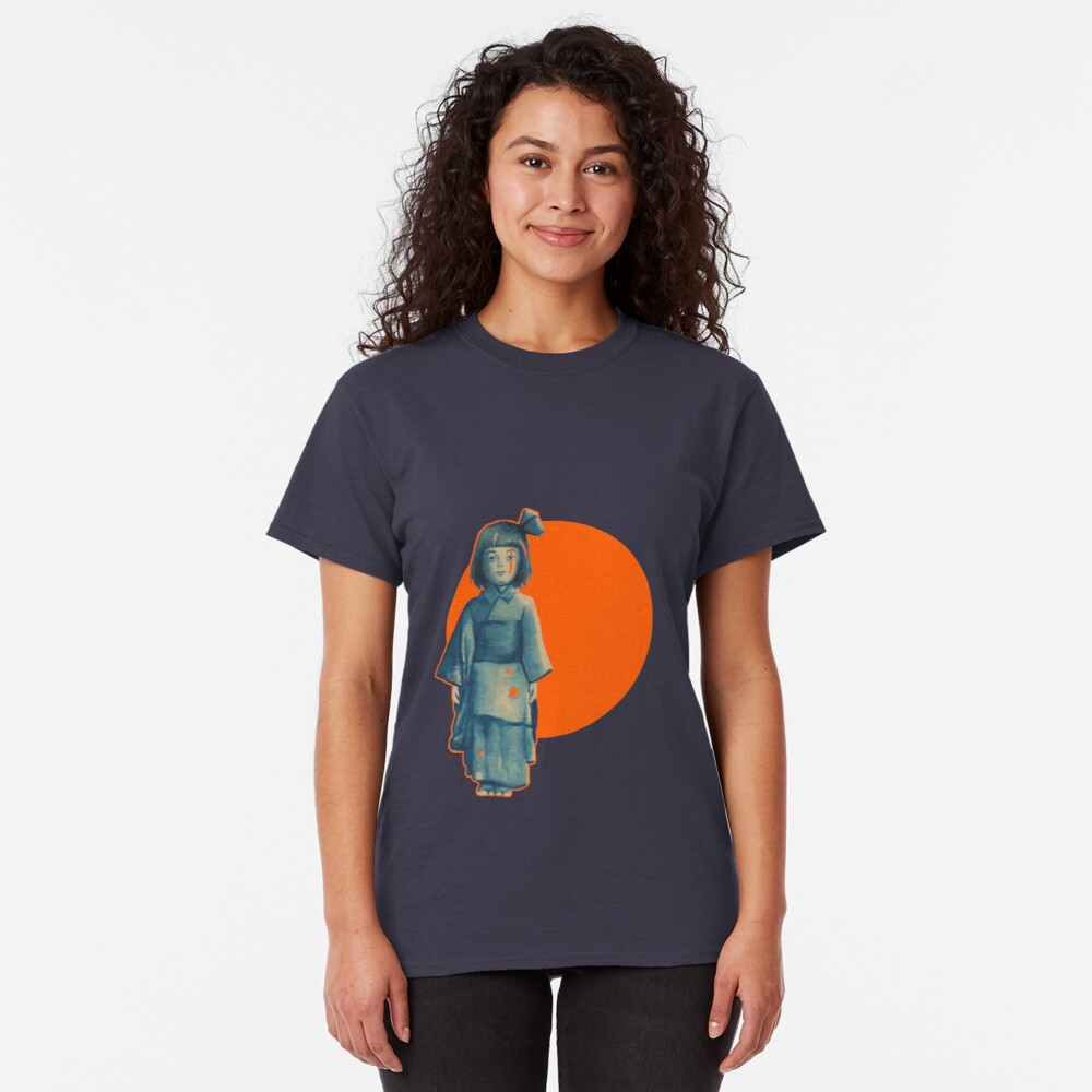 little girl in blue Classic T-Shirt