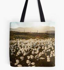 Cotton Grass Tote Bag