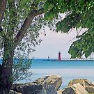Summertime Along Lake Michigan by kkphoto1