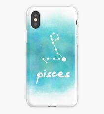 Pisces Constellation iPhone Case