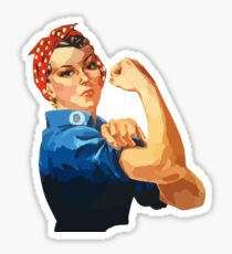 Rosie The Riveter Collection Sticker
