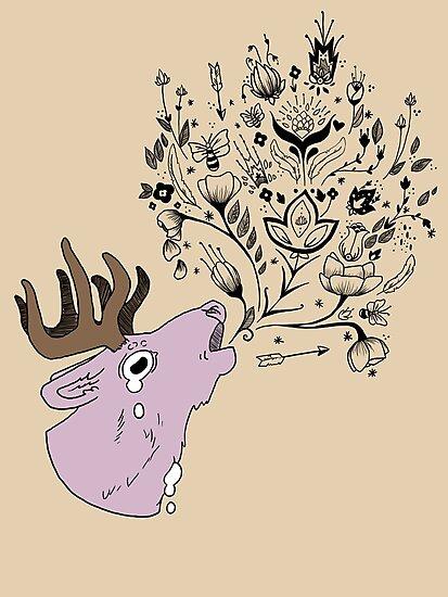 Dear Deer by jabbershire