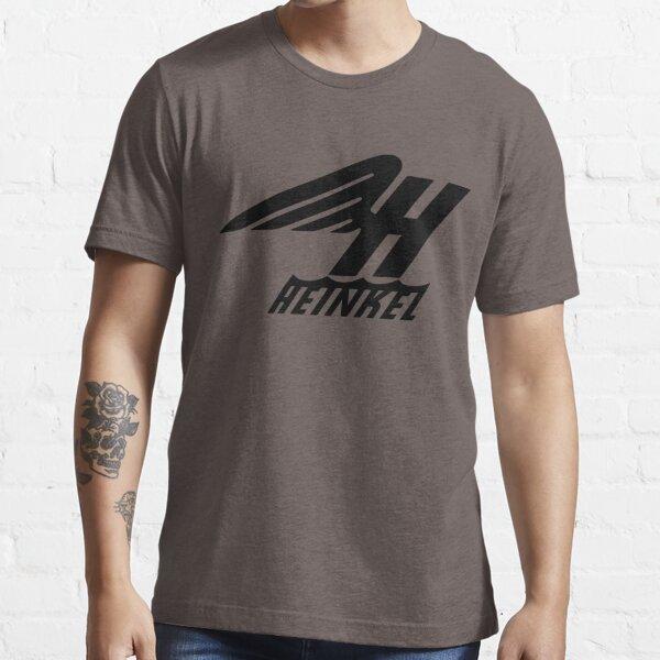 Heinkel Flugzeugwerke Logo (Black) Essential T-Shirt