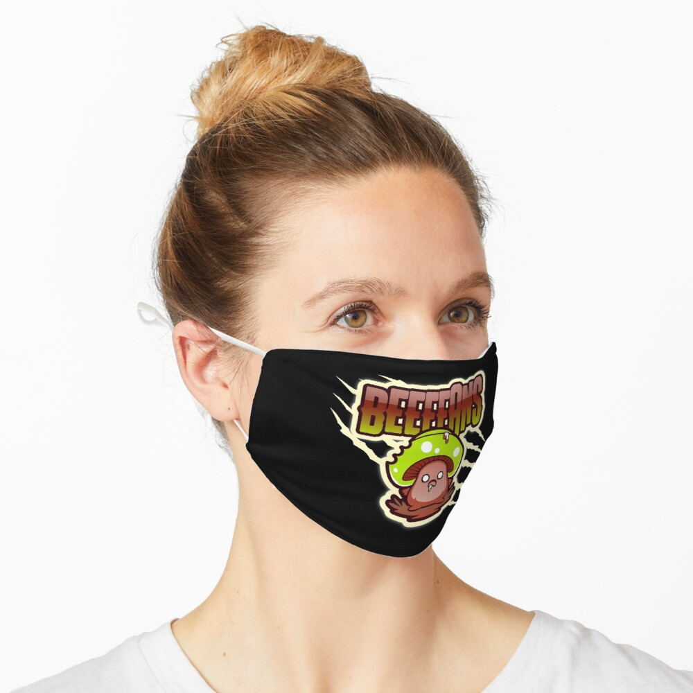 Beeeeans Vegan Zombie Mushroom Mask