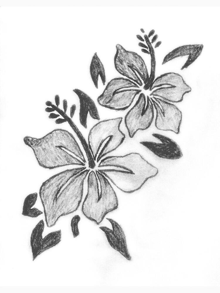 Flower Sketch by 3DMaxArtist