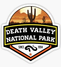 DEATH VALLEY NATIONAL PARK CALIFORNIA CACTUS HIKE HIKING CAMP CAMPING SNAKE Sticker