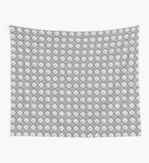 AGDG - Logo Pattern (White) Wall Tapestry