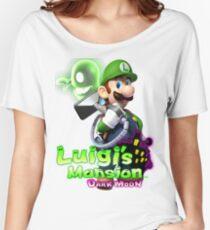 Luigi's Mansion Dark Moon T-Shirt Women's Relaxed Fit T-Shirt
