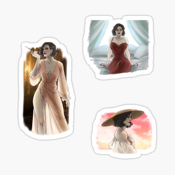 Lady Dimitrescu sketches Sticker