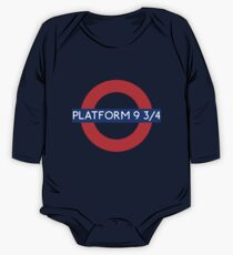 Fandom Tube- PLATFORM 9 3/4 One Piece - Long Sleeve