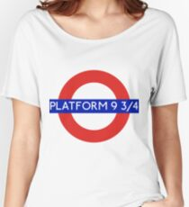 Fandom Tube- PLATFORM 9 3/4 Women's Relaxed Fit T-Shirt