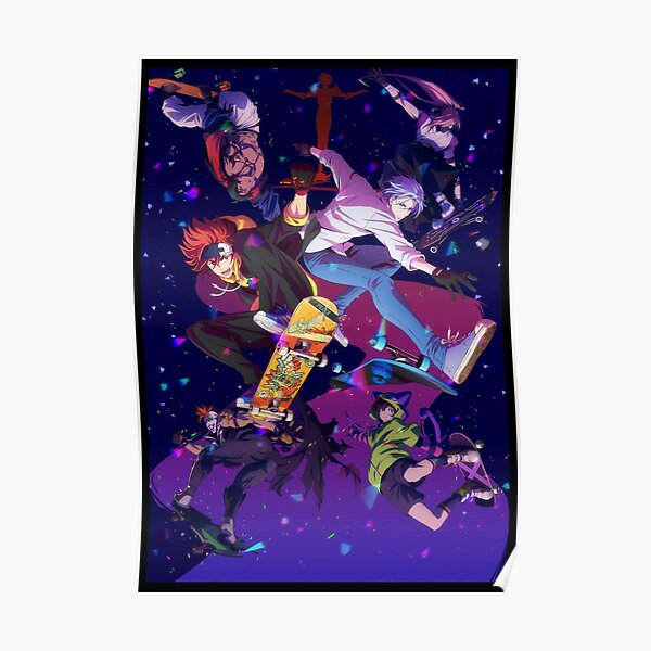 sk8 the infinity poster manga Poster