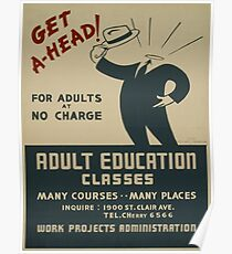 Adult Education: Posters | Redbubble