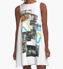 'A Day in London' A-Line Dress