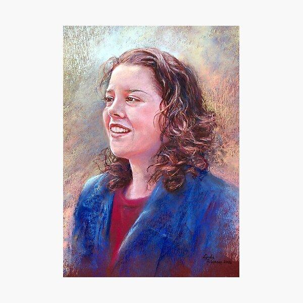 Portrait of Donna Photographic Print