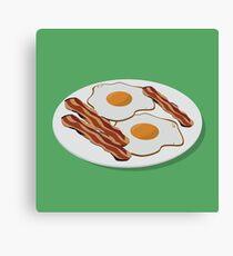 Bacon & Eggs Canvas Print