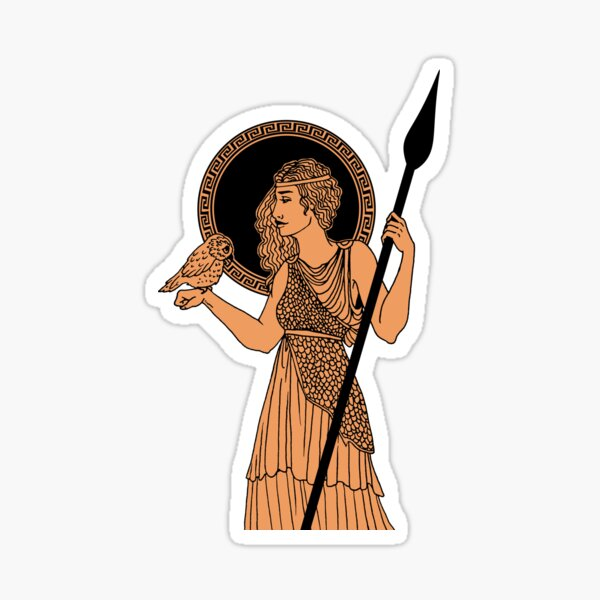 Athena Pottery Sticker