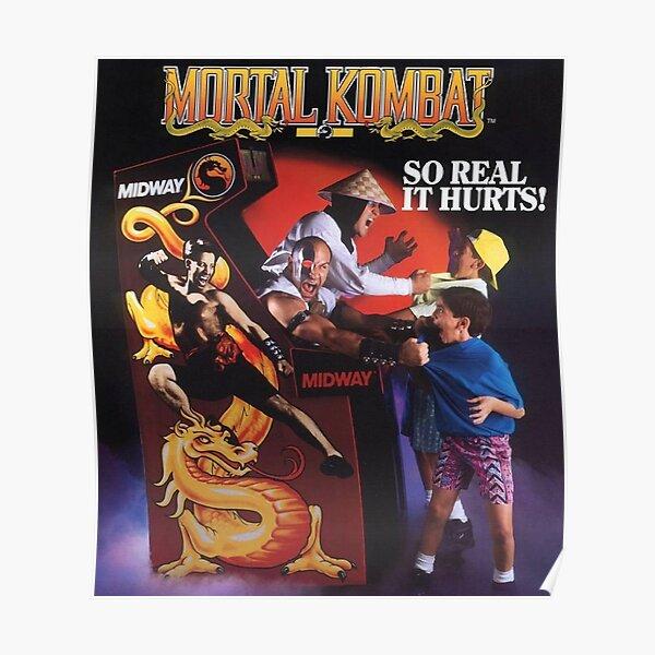 Mortal Kombat So Real It Hurts  Poster