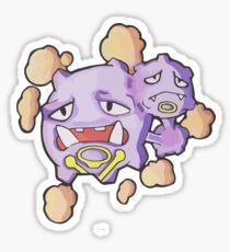 Weezing Sticker