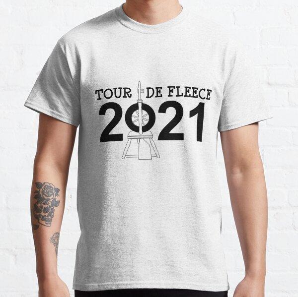 Tour de Fleece 2021 (Black) Classic T-Shirt