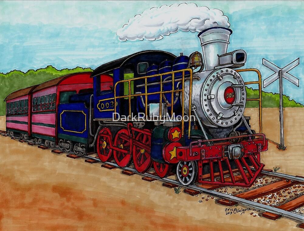 Train by DarkRubyMoon