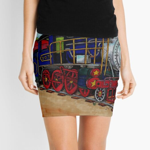Train Mini Skirt