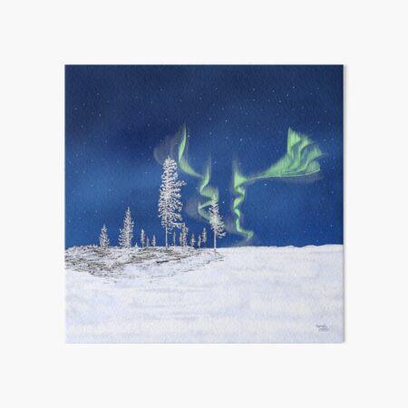 Frozen Forest - Lapland8seasons Art Board Print