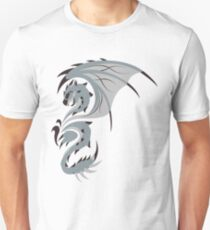 Reign of Heavens - Silver Rathalos Slim Fit T-Shirt