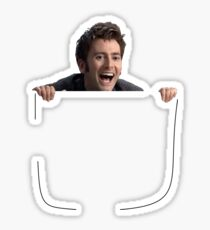 David Tennant In Your Pocket Sticker