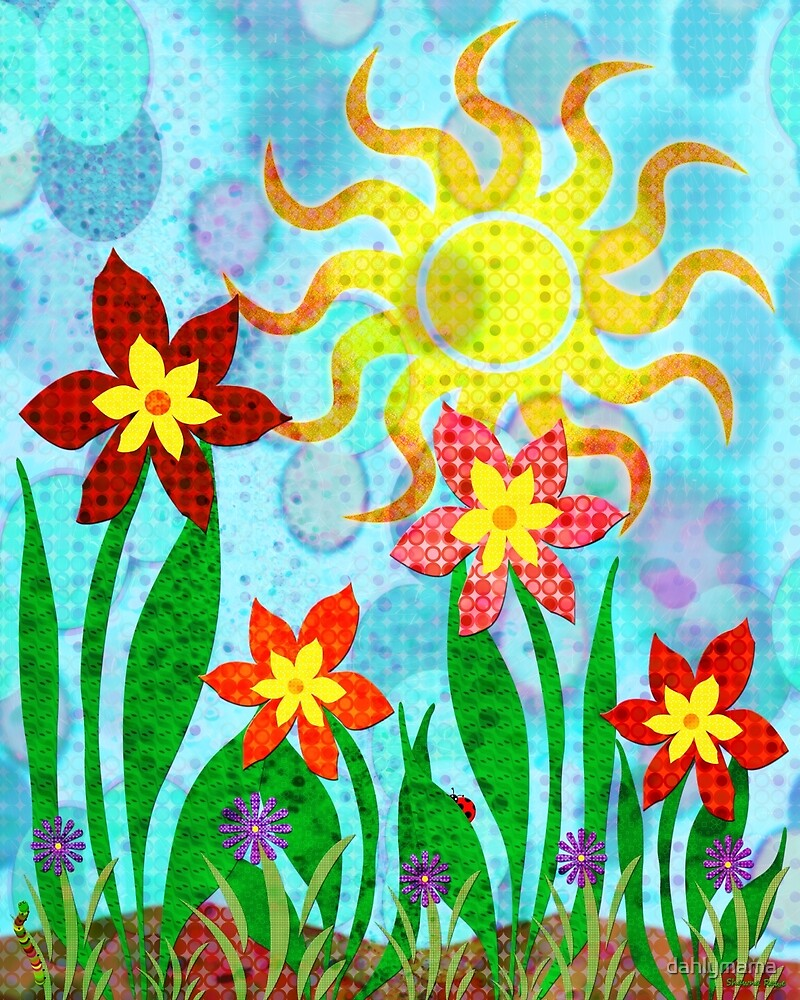 Fanciful Flowers by Shawna Rowe