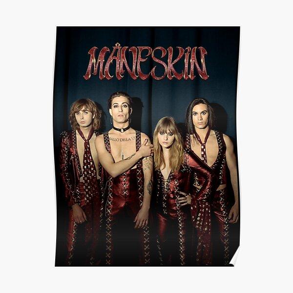 Måneskin rock band Maneskin Poster