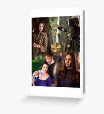 Outlander Collage Greeting Card