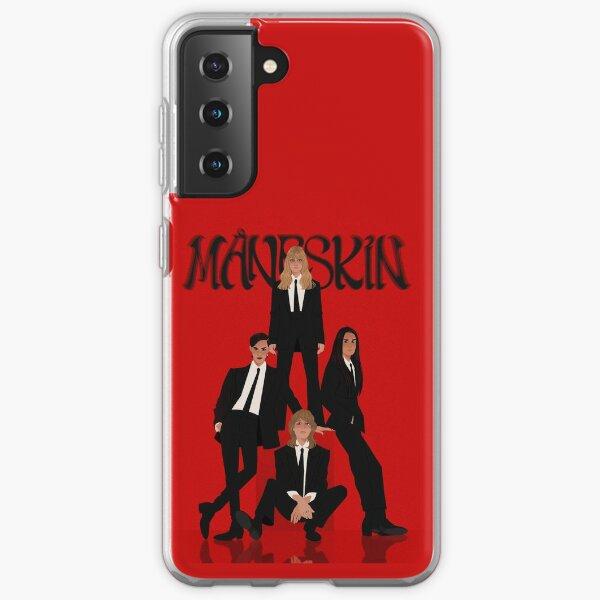 Måneskin rock band Maneskin Samsung Galaxy Soft Case