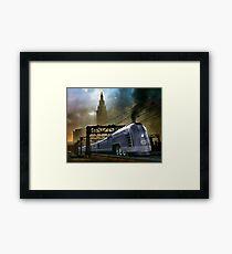 Mercury Train Framed Print