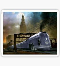 Mercury Train Sticker