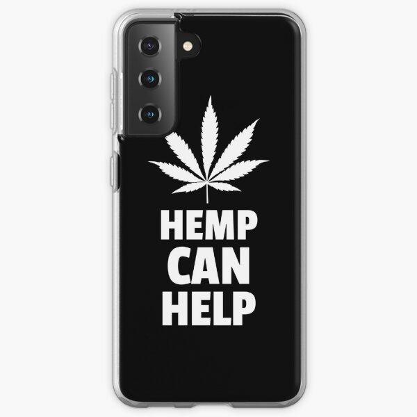 Hemp Can Help Marijuana Leaf  Samsung Galaxy Soft Case