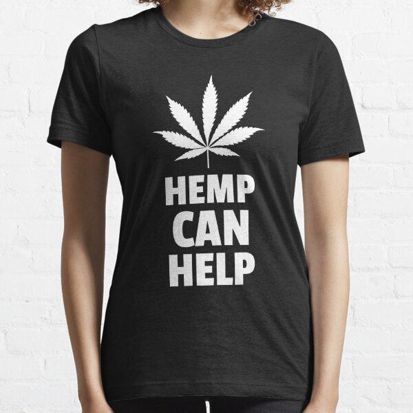 Hemp Can Help Marijuana Leaf  Essential T-Shirt