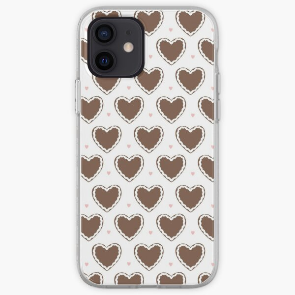gingerbread heart iPhone Soft Case