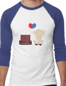 u p Men's Baseball ¾ T-Shirt