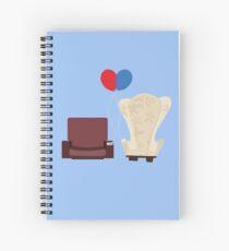 u p Spiral Notebook