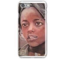 Jeune Fille Ethiopienne 2014 iPhone Case/Skin