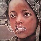 Jeune Fille Ethiopienne 2014 by Aline Gason